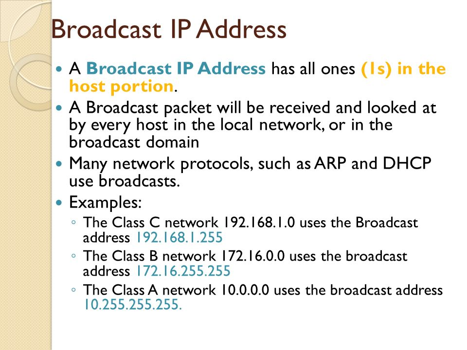 CCNA Discovery 1 Chapter 5: Network Addressing - ppt download