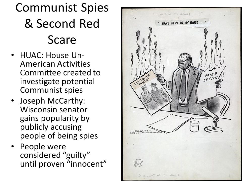 Communist Spies & Second Red Scare