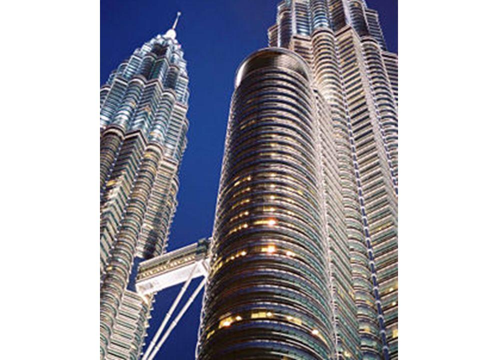 who built the petronas twin towers
