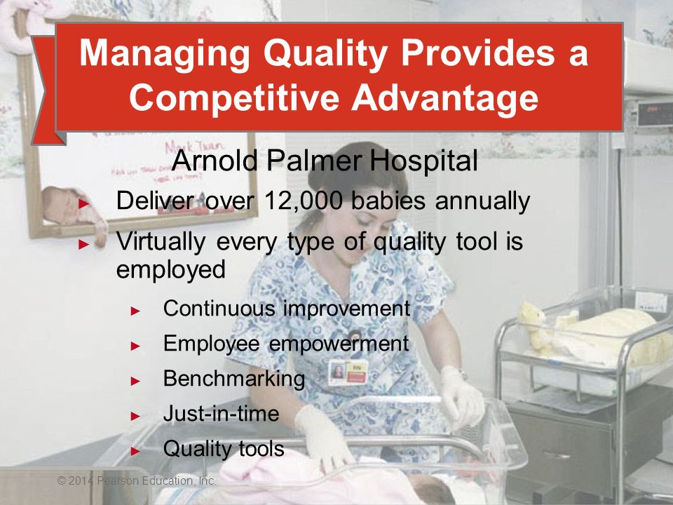 Managing Quality Provides a Competitive Advantage