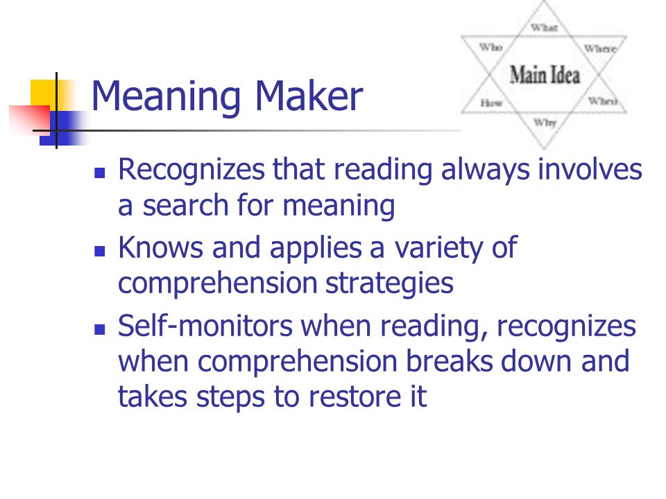 Wele Literacy For Learning Effective Instruction Ppt. Meaning Maker Recognizes That Reading Always Involves A Se For Knows And Applies. Worksheet. Literacy Worksheet Maker At Mspartners.co