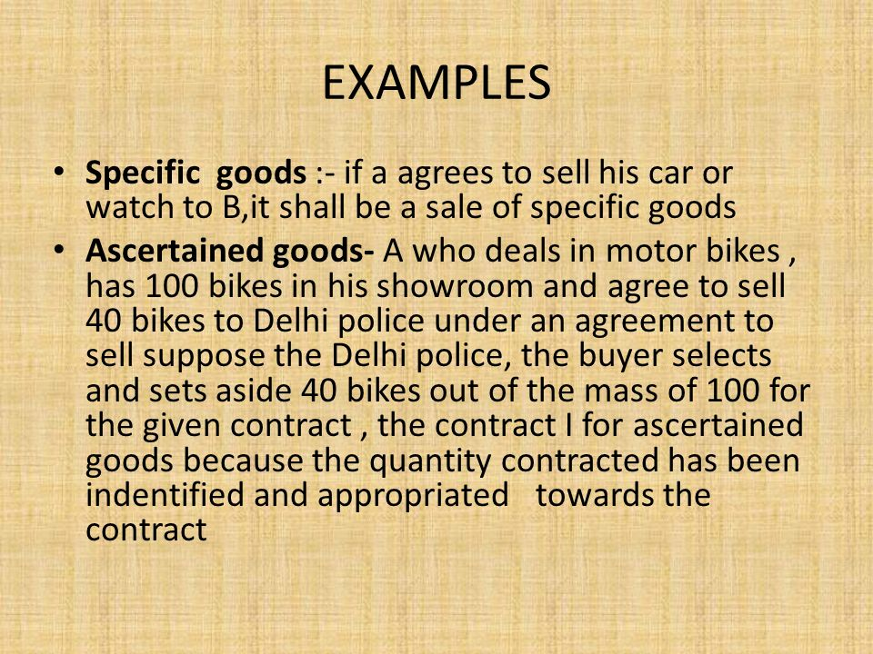 Module 3 Sale Of Goods Act Ppt Download