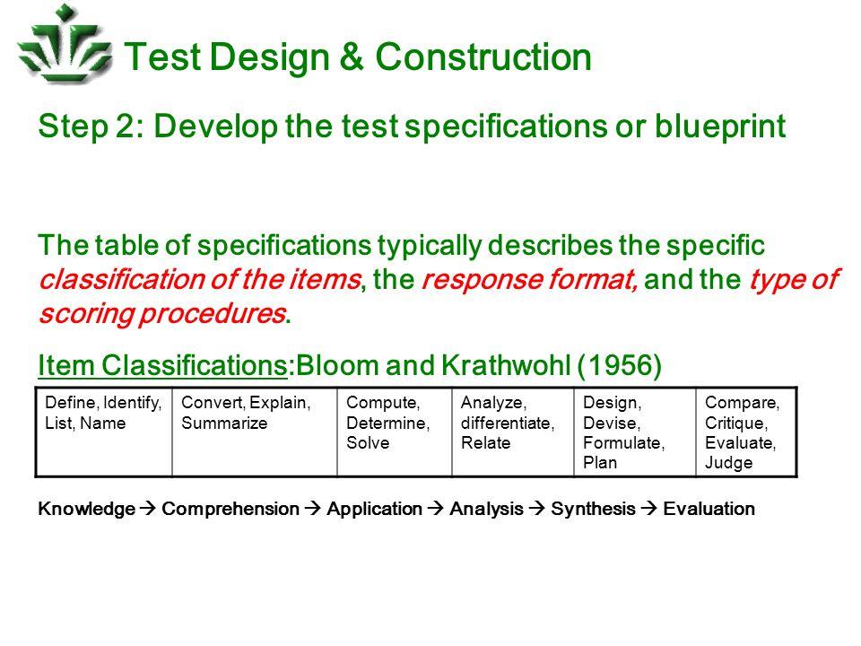 Test design construction ppt download 12 test design construction malvernweather Gallery