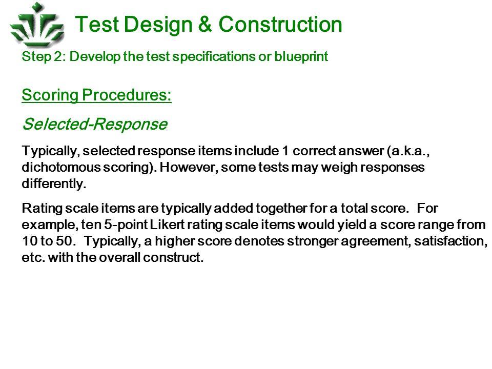 Test design construction ppt download 18 test design construction malvernweather Gallery