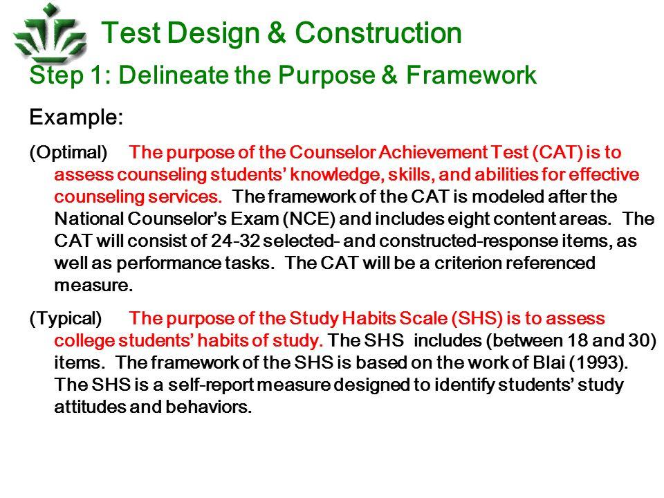 Test design construction ppt download 7 test design construction malvernweather Choice Image