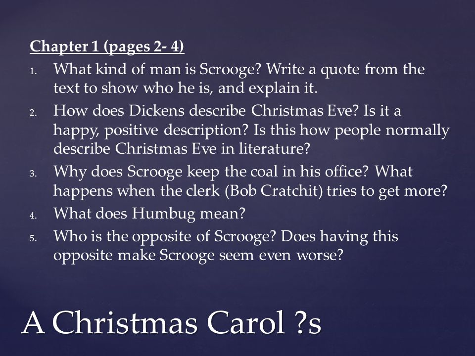 A Christmas Carol Scrooge Quotes.Guided Comprehension Questions Ppt Download