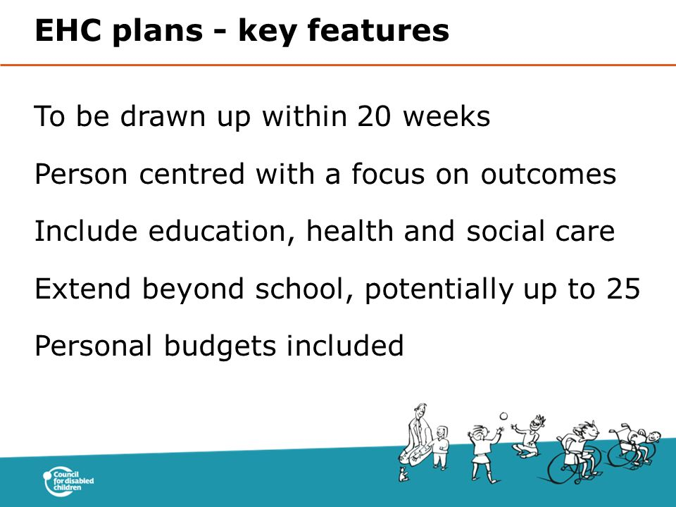 EHC plans - key features
