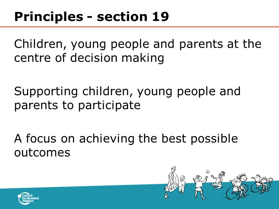 Principles - section 19