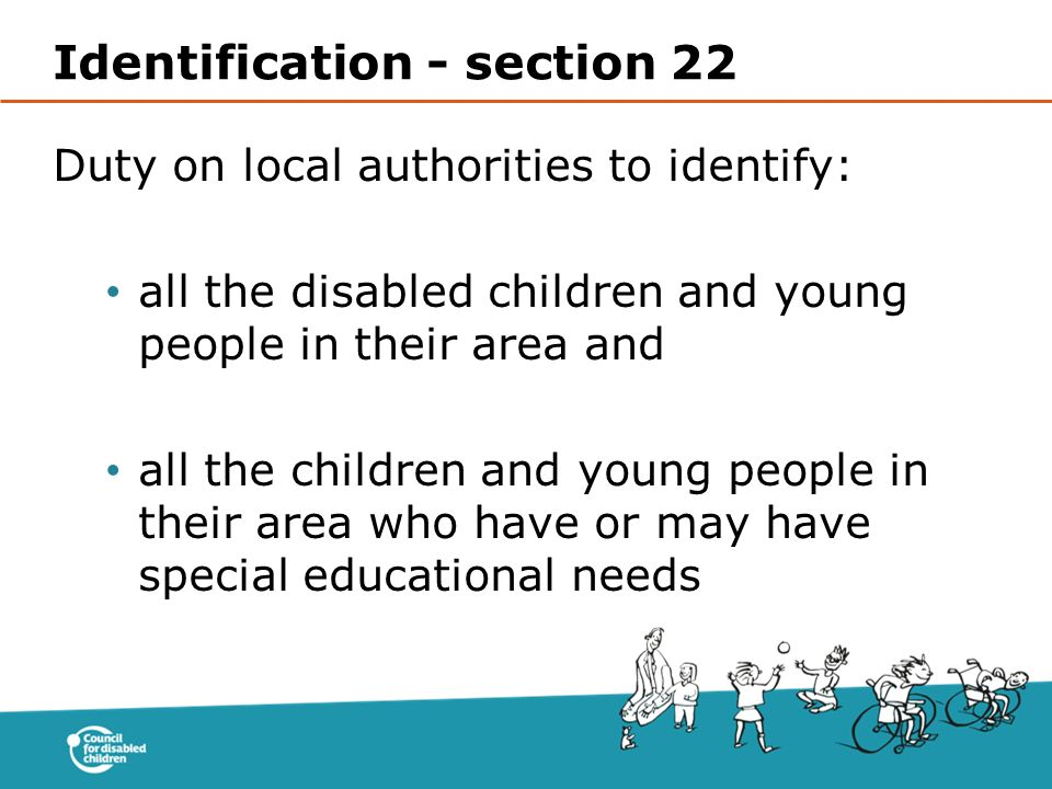 Identification - section 22