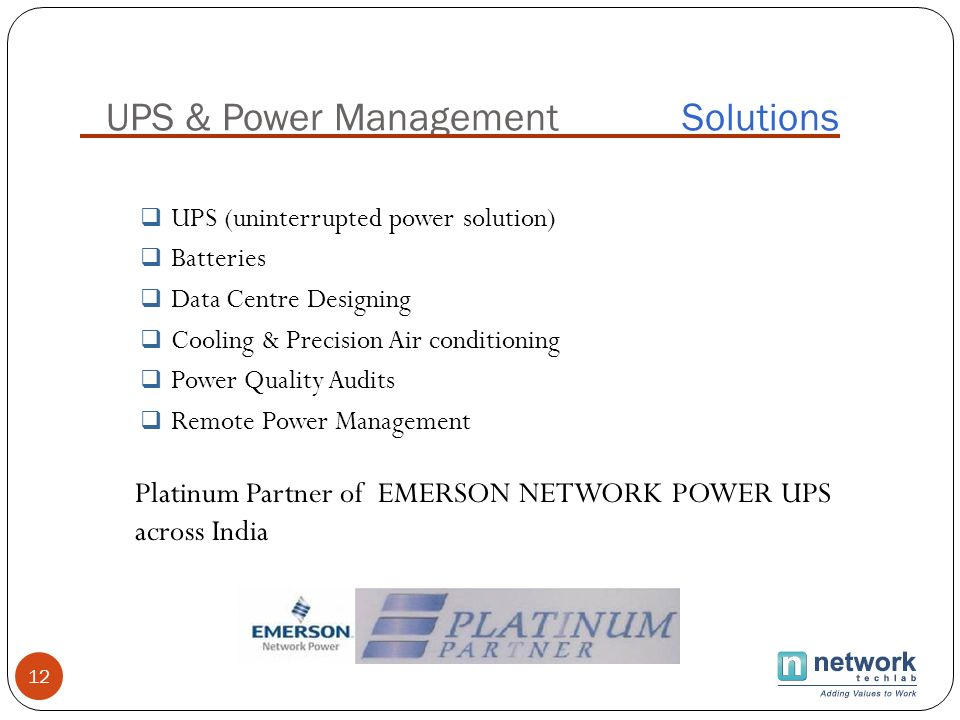 UPS & Power Management Solutions