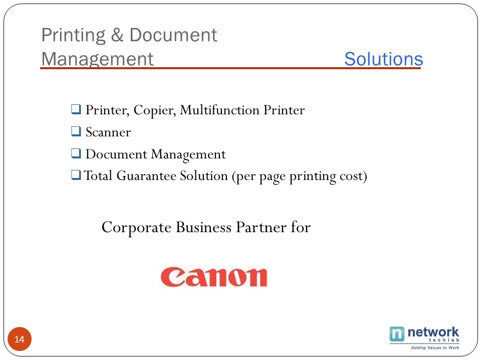 Printing & Document Management Solutions