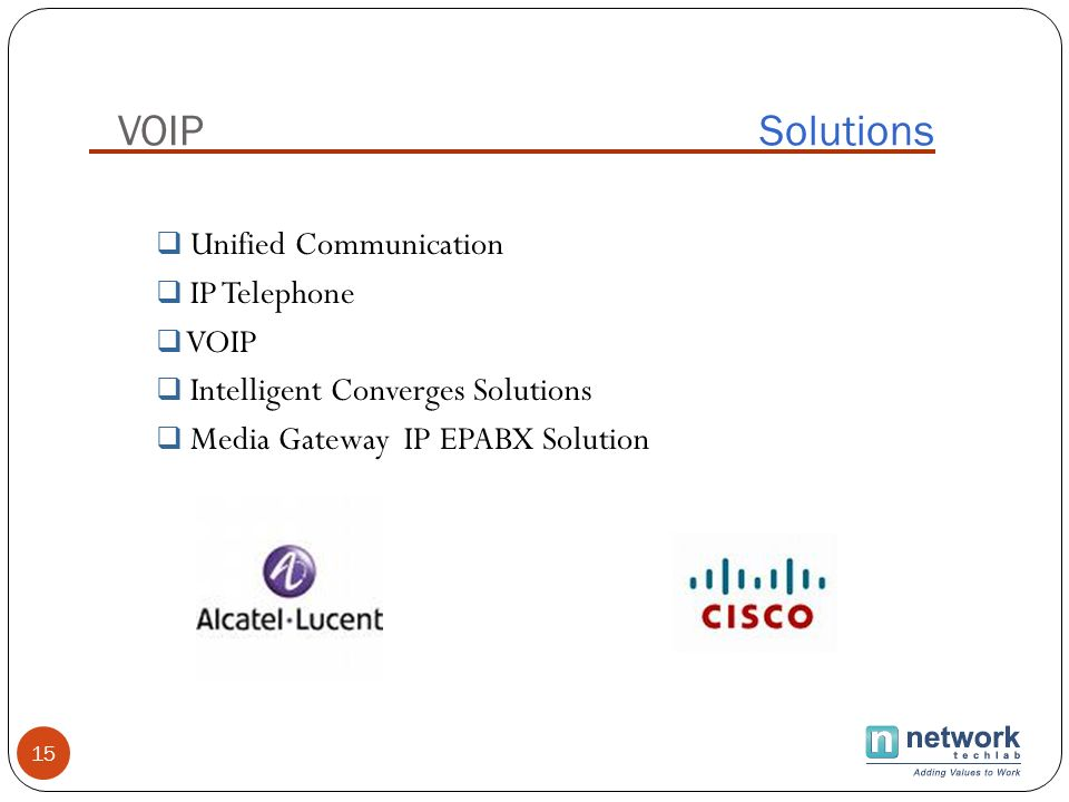 VOIP Solutions Unified Communication IP Telephone VOIP