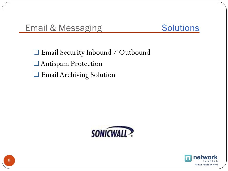 & Messaging Solutions