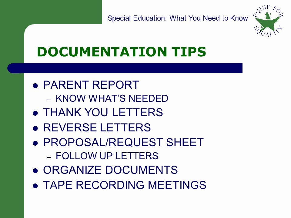 Whats Ahead For Special Education >> Special Education What You Need To Know Some Of The Basics Ppt