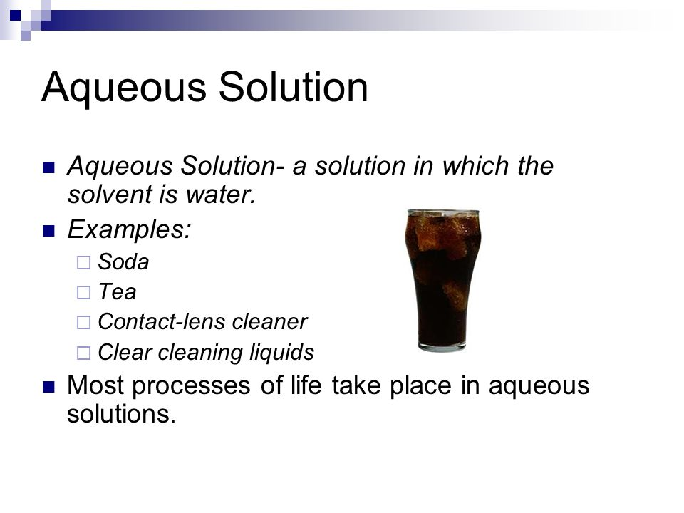 Chapter 4 reactions in aqueous solutions.