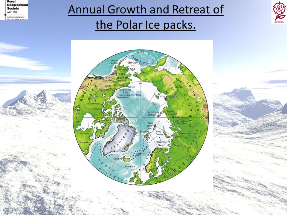 Annual Growth and Retreat of