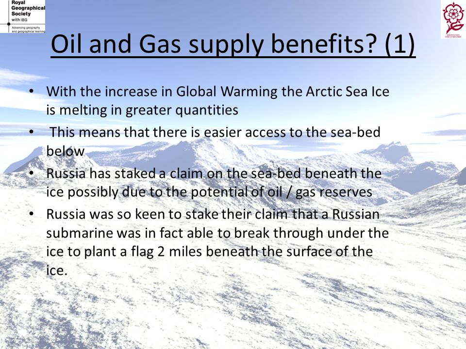 Oil and Gas supply benefits (1)