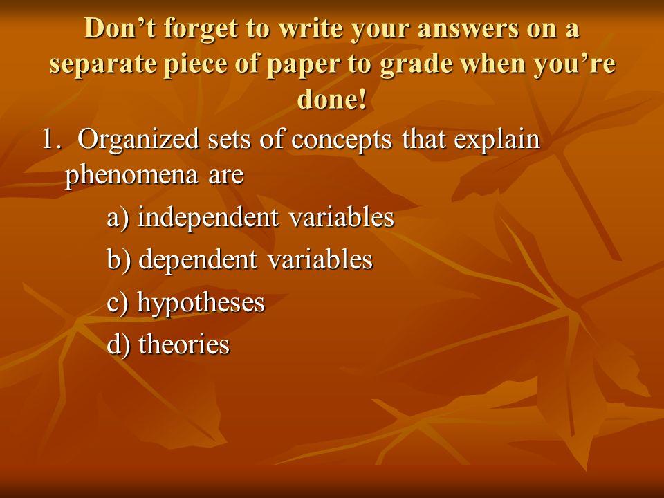 bad student essay qualities