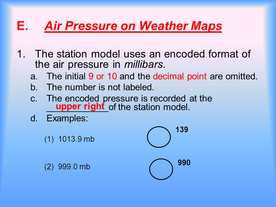 Air Pressure and Wind  - ppt download