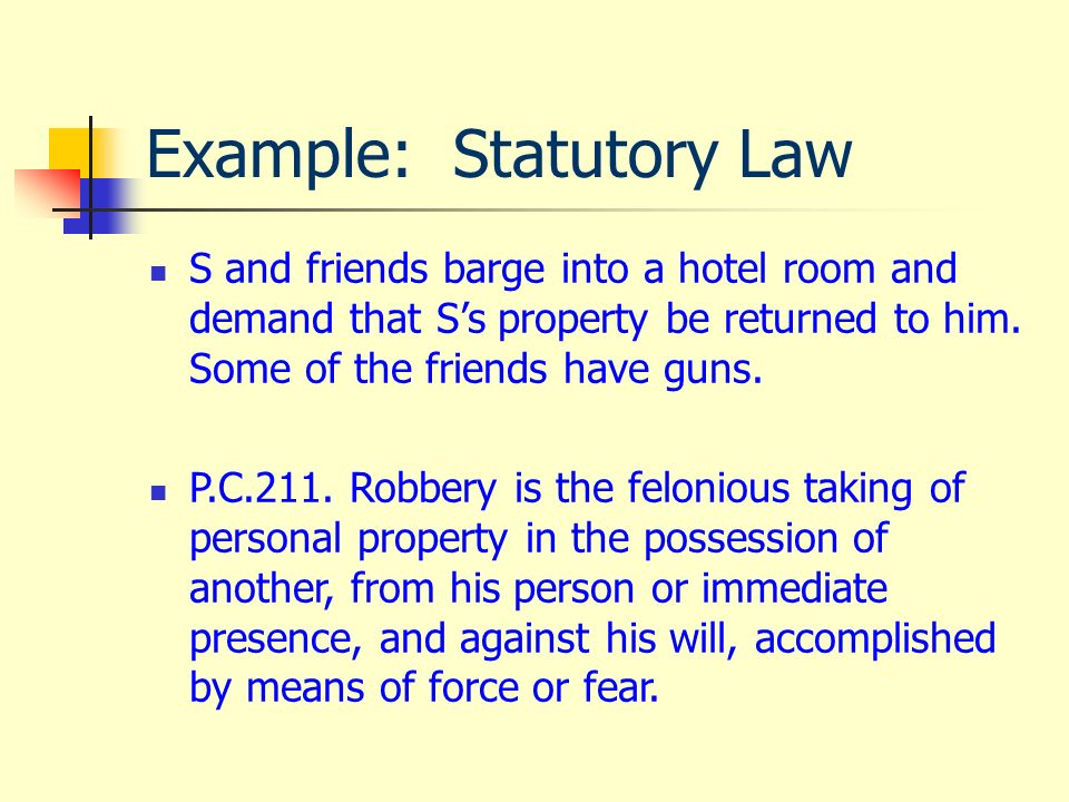 The canadian legal system.
