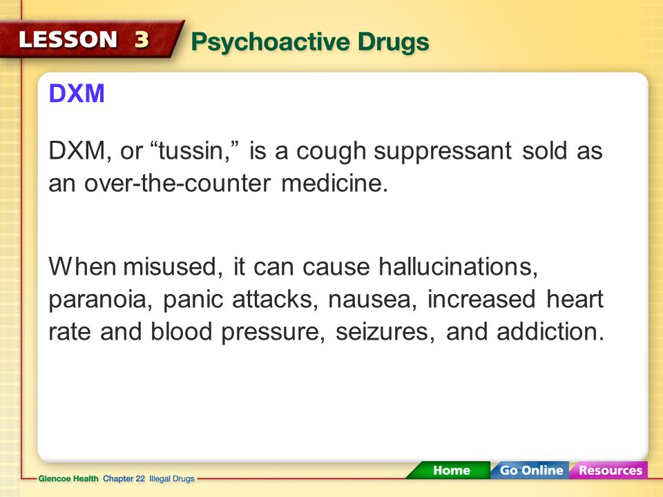 DXM DXM, or tussin, is a cough suppressant sold as an over-the-counter medicine.