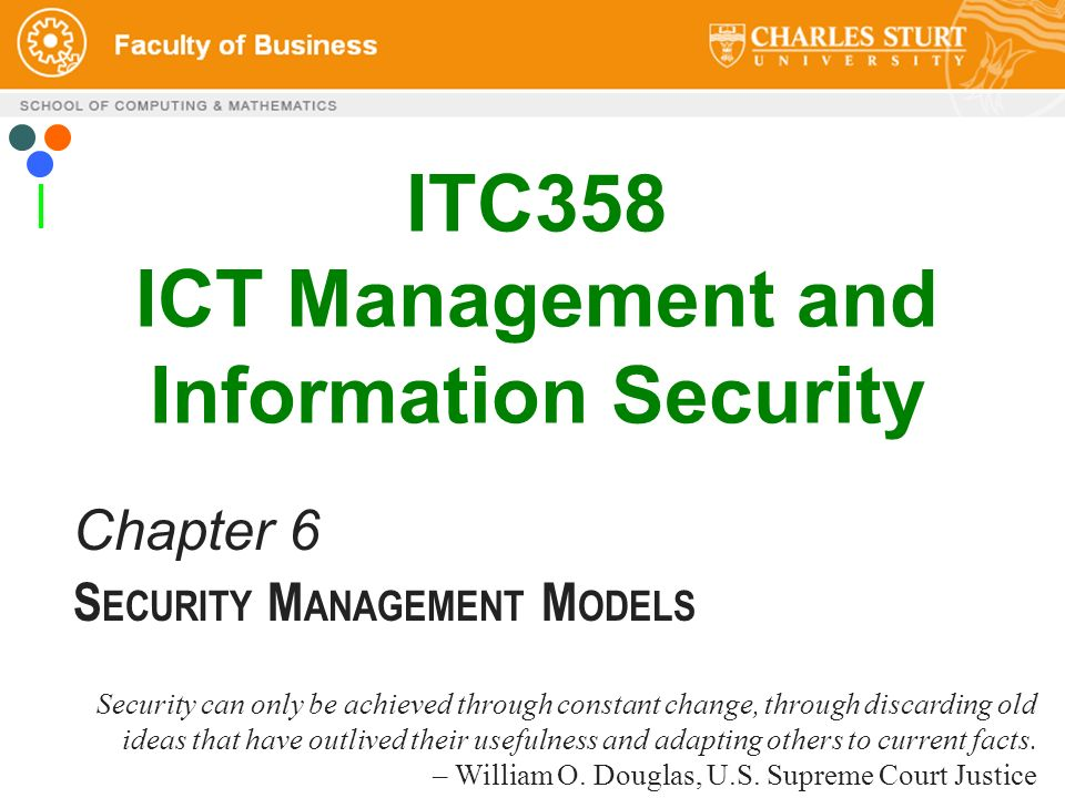 Itc358 ict management and information security ppt download itc358 ict management and information security malvernweather Image collections