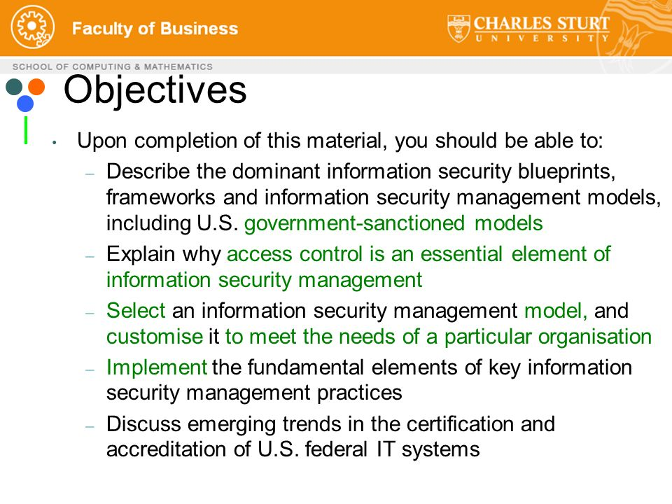 Itc358 ict management and information security ppt download 2 objectives malvernweather Image collections