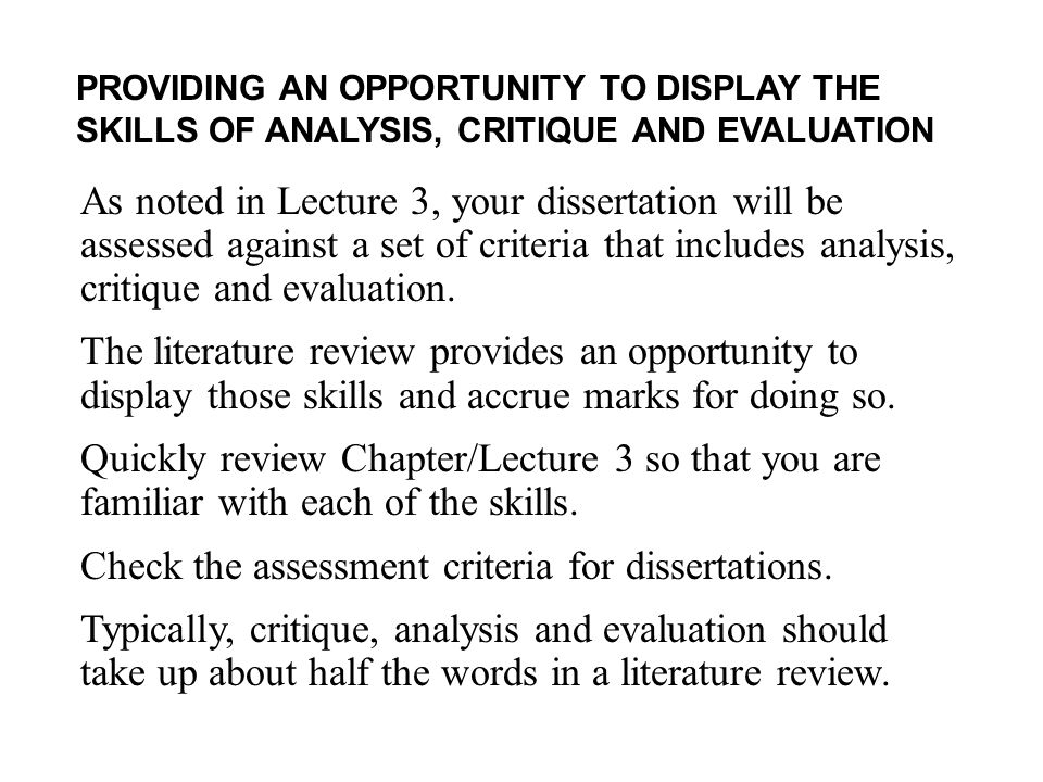 ma dissertation marking criteria The college marking criteria have been reviewed with usage of 0-100% grading structure in line with current college regulations the criteria set out should be used across the college except where specific  that marking decisions are consistent, fair and transparent to both staff and students   for research dissertation/project.