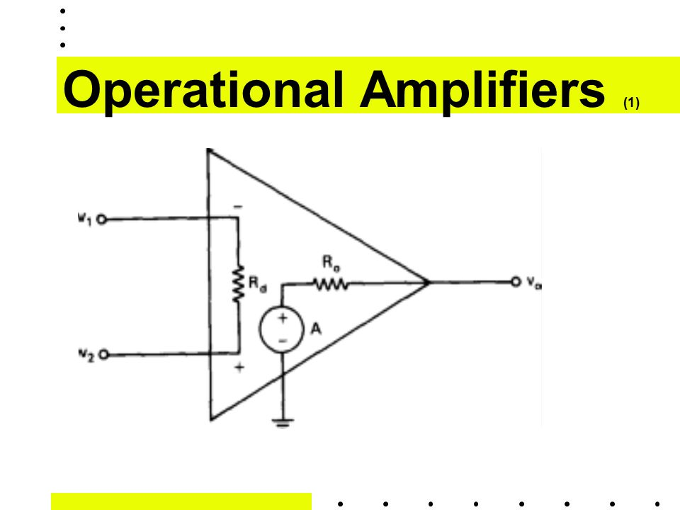 Operational Amplifiers (1)