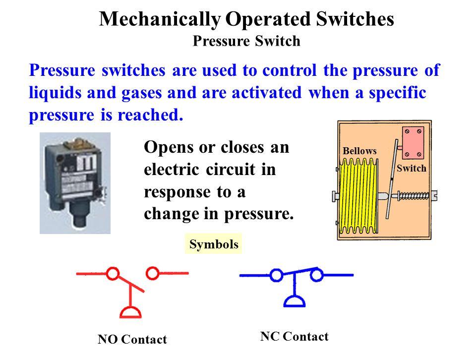 Ladder Logic Pressure Switch Schematic Symbol Electrical Work