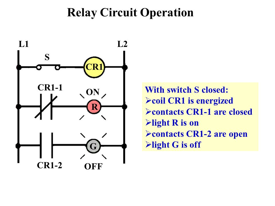 Chapter 6 Control_relays  - ppt video online download