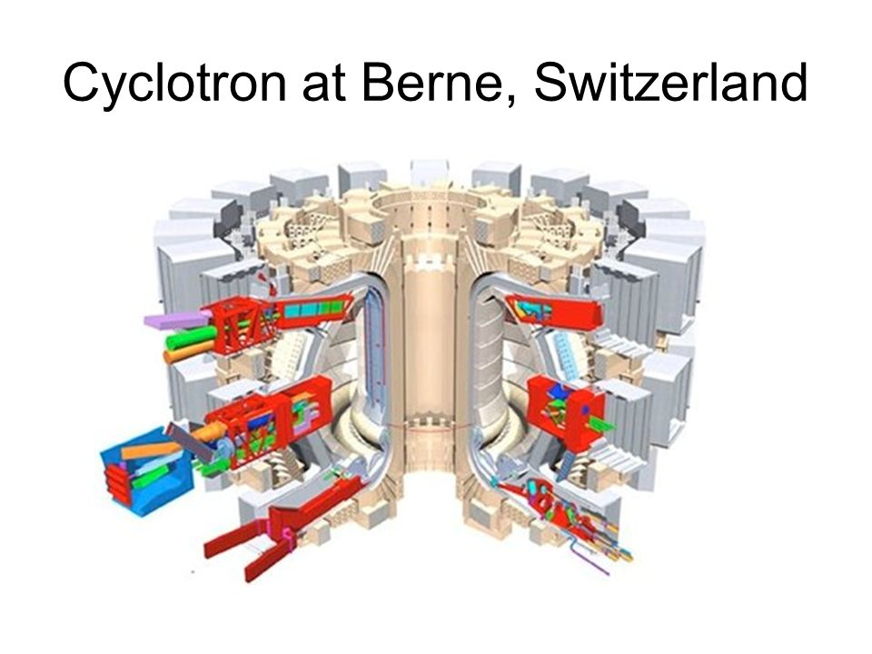 Cyclotron at Berne, Switzerland