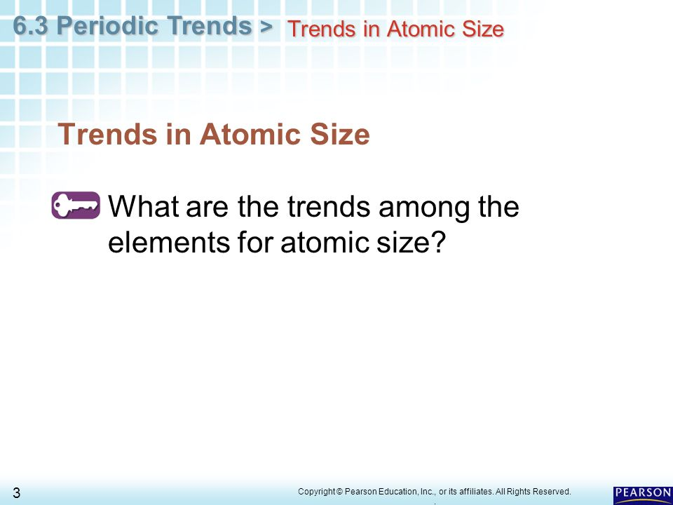 Chapter 6 The Periodic Table 63 Trends Ppt Video Online. Worksheet. Periodic Trends Worksheet Chapter 6 At Mspartners.co