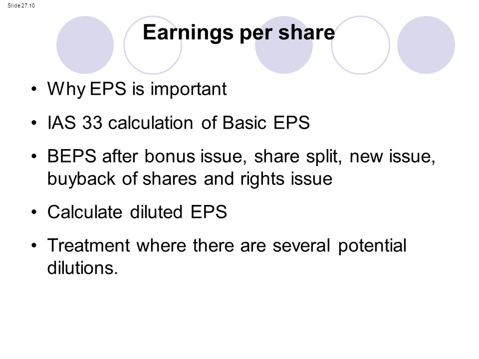 Earnings per share formula examples, how to calculate eps.