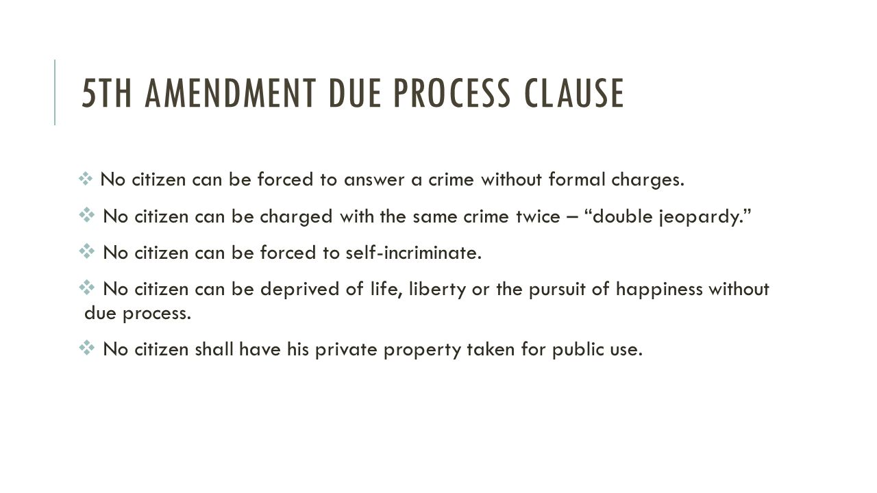 Due Process And Equal Protection Ppt Video Online Download