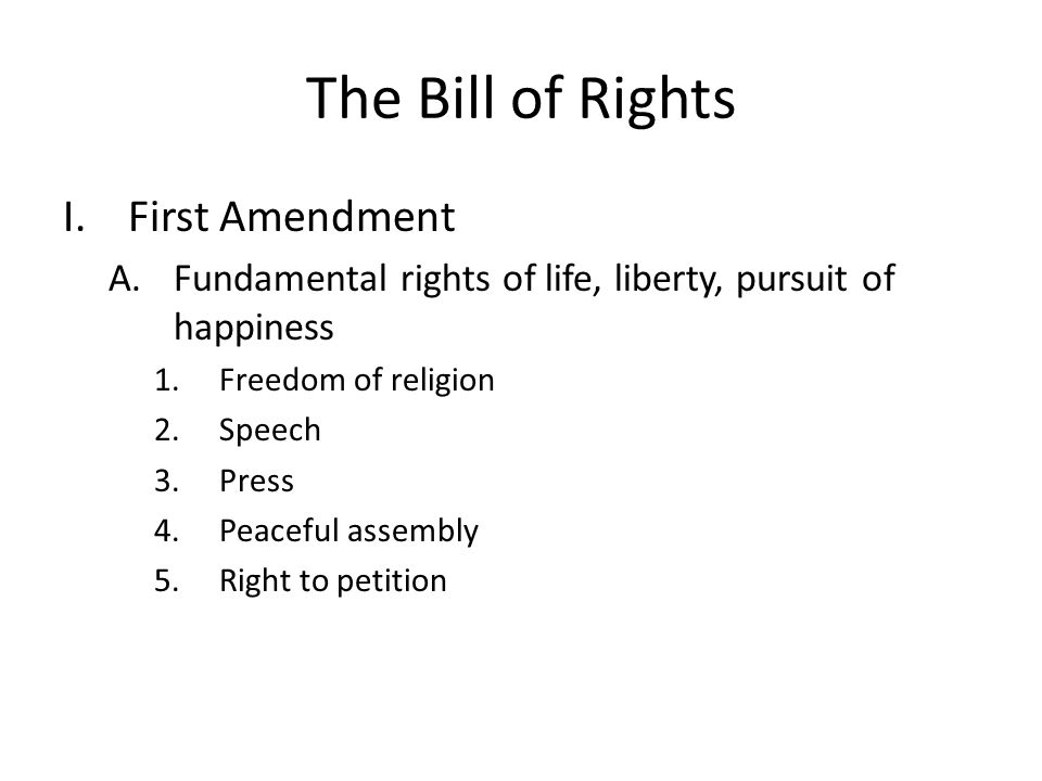 right to petition amendment constitution look at the chart on page ppt 9016
