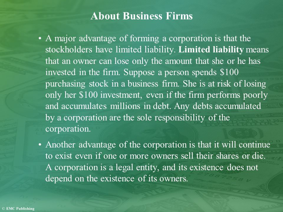 About Business Firms