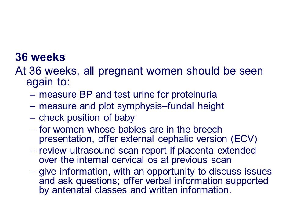 Traditional Antenatal Care - ppt download