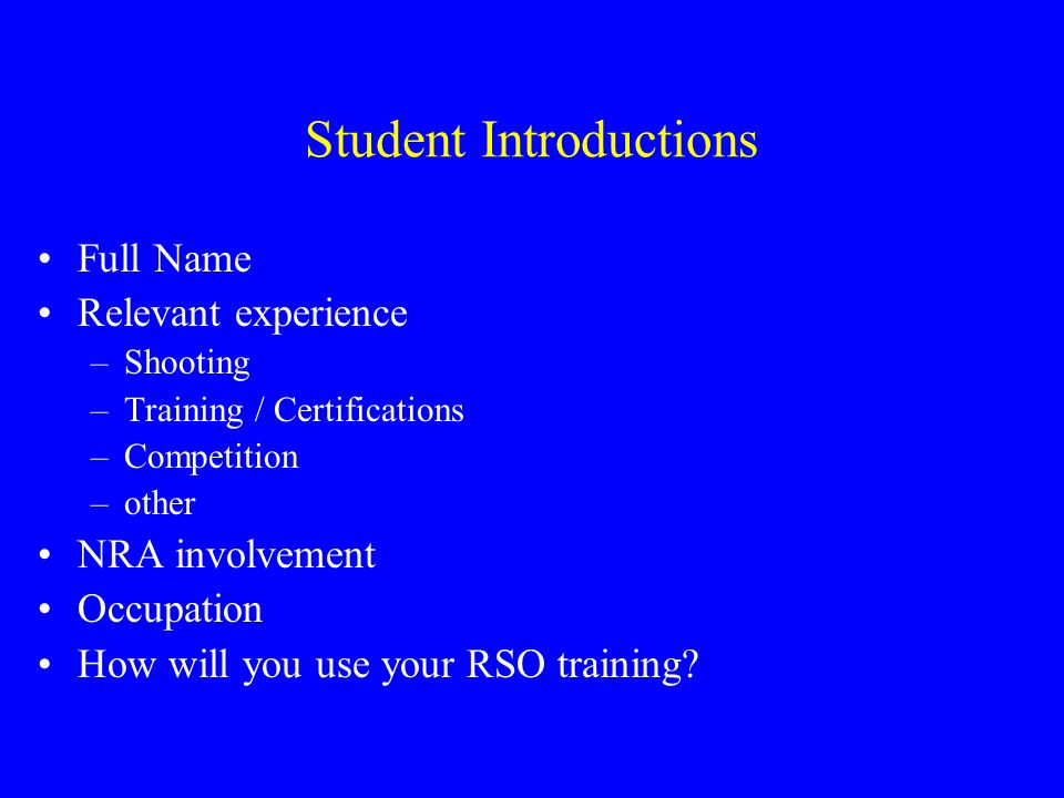 Nra Range Safety Officer Course Ppt Video Online Download