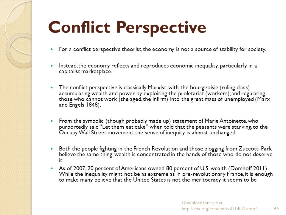 conflicting perspectives thesis statements Published: mon, 5 dec 2016 sociologists believe that there is four different ways of social conflict most sociologists will use the theoretical or perspective approach to help research.