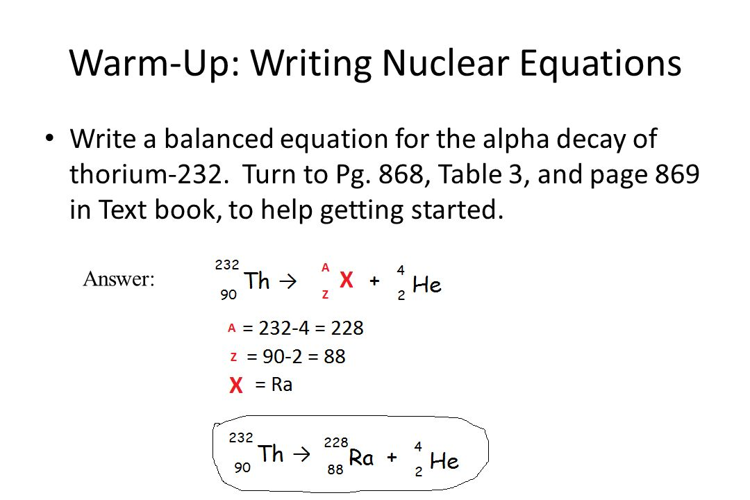 Student Worksheet Writing Nuclear Equations Livinghealthybulletin