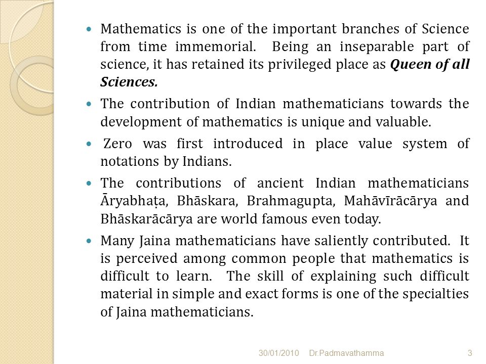 contribution of indian mathematicians