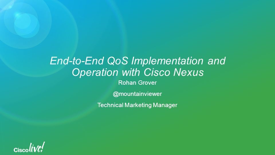 4/20/2017 Cisco Live ppt download