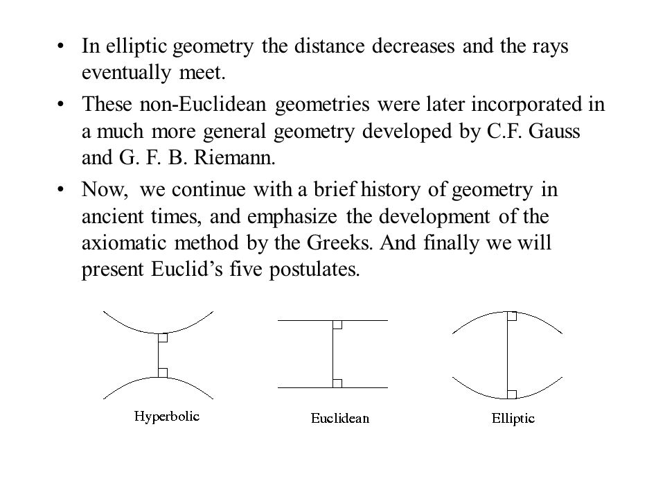 Why Studying Euclidean Geometry? - ppt video online download