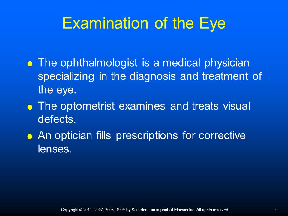 Assisting in Ophthalmology and Otolaryngology