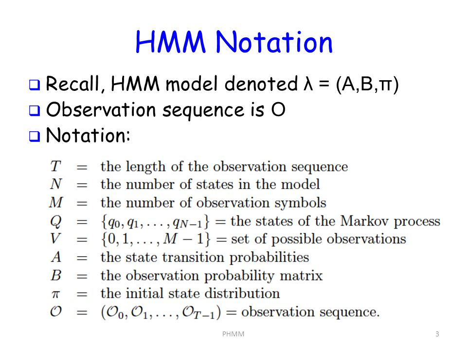 Introduction to Profile Hidden Markov Models - ppt video