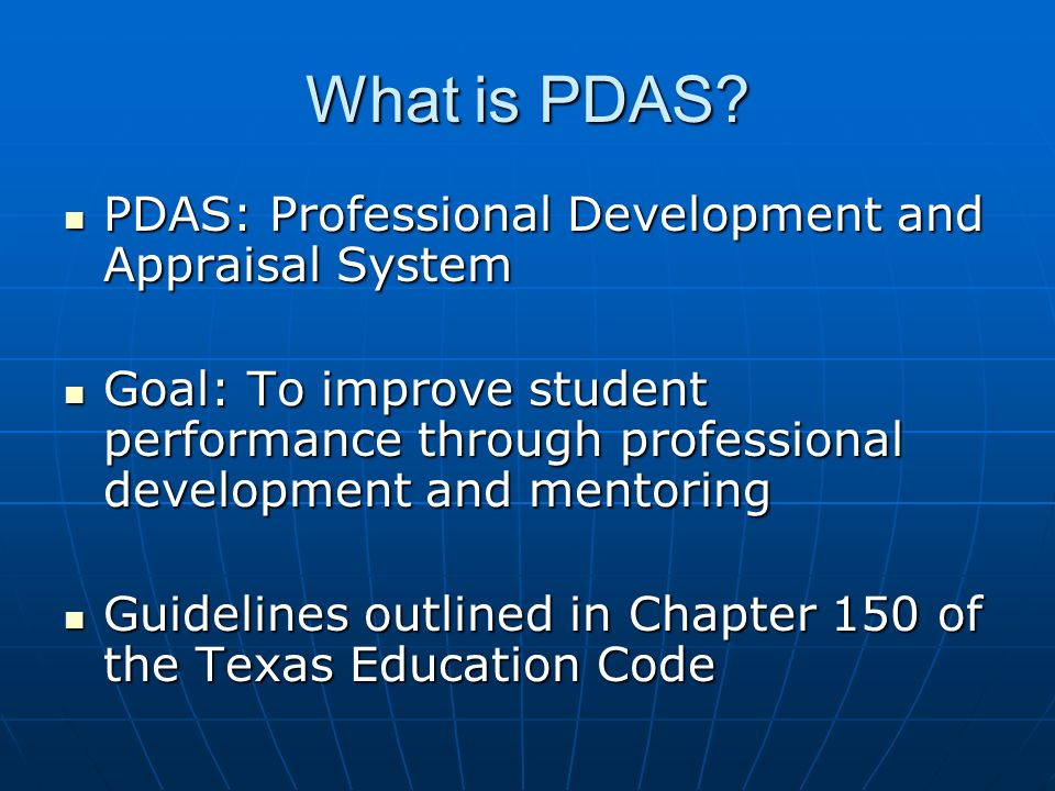 PDAS Overview La Porte ISD Ppt Download