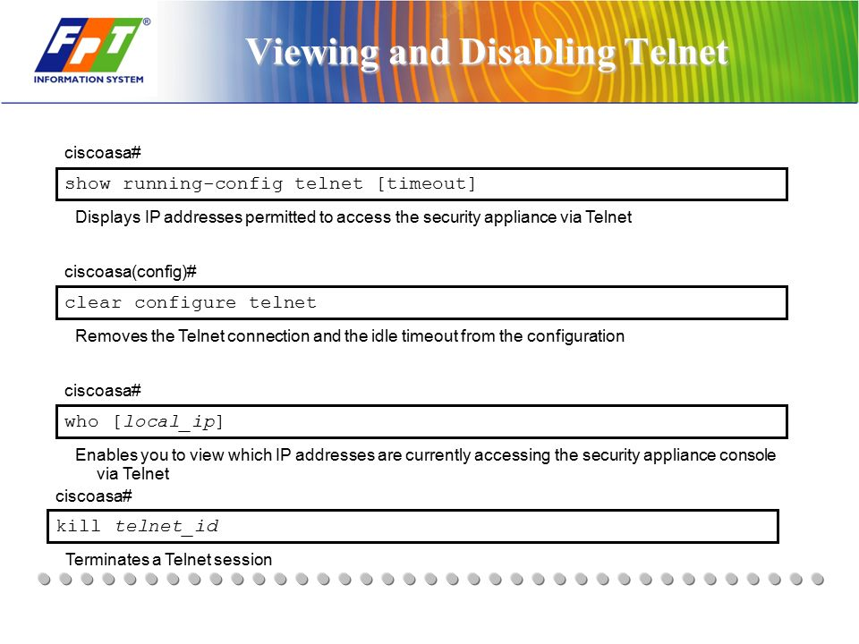 Security - Cisco Firewall TRAINING - ppt download