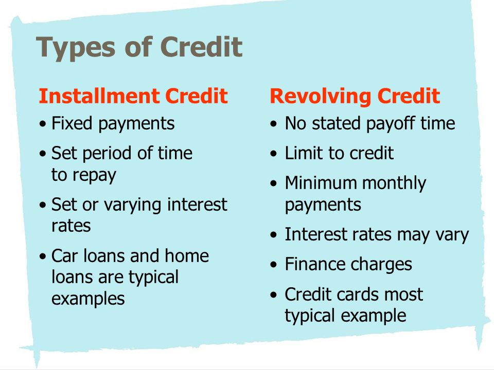 Loans For Bad Credit With Monthly Payments >> Good Debt, Bad Debt: Using Credit Wisely Learner Objectives - ppt download