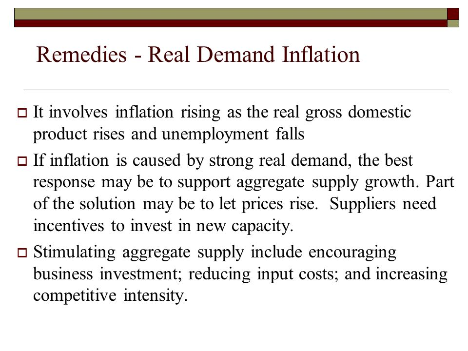 deficit induced inflation